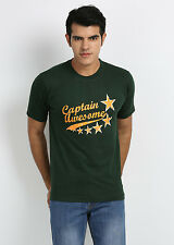 Stylish Captain Awesome Round Neck T-Shirts