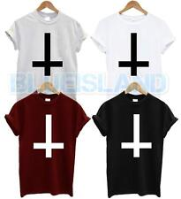 INVERTED CROSS T SHIRT WASTED YOUTH TSHIRT FASHION NEW HIPSTER SWAG DOPE UNISEX