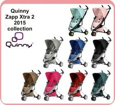 QUINNY ZAPP XTRA / EXTRA 2 - FOLDING WITH SEAT-2015, 100% GENUINE