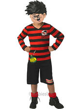 Dennis the Menace Boys Fancy Dress Book Week TV Cartoon Kids Childs Costume New
