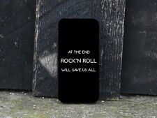 Rock'n Roll Spruch Handy Cover Musik - Flipcase iPhone 4 5 5S 6 Galaxy S4 S5