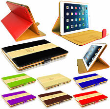 Luxury Leather Slim Stylish Rich Boss Protective Case Cover for All iPad Models