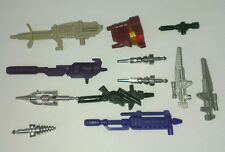 80's G1 TRANSFORMERS WEAPON GUN PART ACCESSORY CANNON MISSILE - selection -