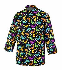 GIACCA CUOCO CHEF EGOCHEF MADE IN ITALY DINO DINOSAURO PASTICCERE JACKET