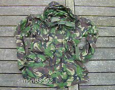 UK BRITISH ARMY SURPLUS G1 ISSUE WOODLAND S95 DPM CAMO WINDPROOF SMOCK-SAS/PARA/