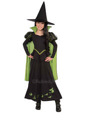 Child Wicked Witch Of The West Costume Girls Fancy Dress Outfit Wizard Of Oz