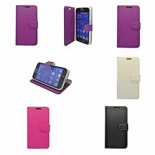 CASE FOR SAMSUNG GALAXY PRIME CORE WALLET VARIOUS COLOUR SCREEN PROTECTOR COVER