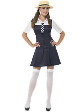 Size 4- 18 Adult Ladies School Girl Fancy Dress Costume Uniform St Trinians