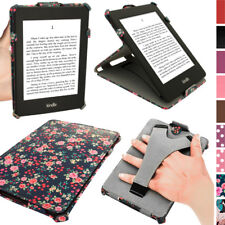 Floreale & Farfalla Disegno Ecopelle Custodia per Amazon Kindle Paperwhite Cover