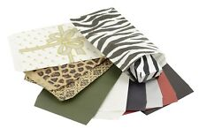 PAPER GIFT BAGS- WHITE,LEOPARD,SILVER BOW,ZEBRA,DAMASK- CHOOSE QUANTITY & SIZE