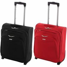 Executive Lightweight Cabin Suitcase Luggage Trolley Case Travel Flight Bag