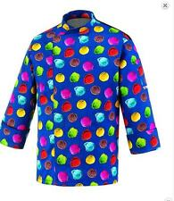 GIACCA CHEF GELATAIO EGOCHEF MADE IN ITALY CHEF ICE CREAM JACKE  COOK ΜΠΟΥΦΑΝ