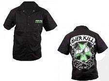 OVERKILL - Maltese Cross - Worker Shirt Hemd - Größe Size M - L - XL - XXL