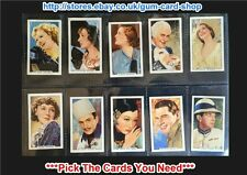 ☆ Gallaher - Portraits of Famous Stars 1935 (F)***Pick The Cards You Need***