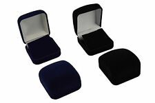 Luxury Faux Velvet Earring Box Jewellery Display Storage Gift Box (VV04)