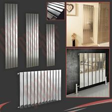 """Luna"" Flat Panel Designer Chrome Radiators Central Heating Vertical Horizontal"