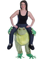 Piggy Back Frog Halloween Animal Mascot Fancy Dress Costume Carry Me Novelty