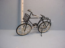Dollhouse Miniature Bicycle  - Black - 1/12 scale - #G8140