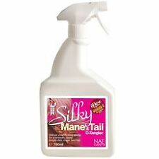 NATURAL ANIMAL FEEDS SILKY MANE & TAIL D-TANGLER EQUINE HORSE GROOMING