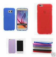 Soft Matt Silicone/Gel/ TPU Case Cover for Apple iPhone Samsung