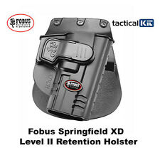 Fobus Glock Springfield XD XDCH Retention Holster Paddle & Belt Versions