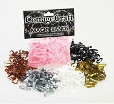 Cottage Craft Magic Plaiting Bands 500 super stretchy plaiting bands