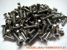 Schrauben-Set Bodenplatte Hot Bodies HB D815 Tessmann chassis screw kit