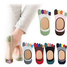 Women Socks Cotton Sock Invisible Socks Anti Skid Sock Toe Socks Summer Beauty