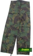 BRITISH ARMY PVC WATERPROOF OVER TROUSERS in DPM WOODLAND CAMO