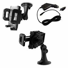 Universal In Car Charger Mobile Phone GPS Suction Windshield Mount Holder Mount