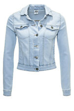 NEU Vero Moda Damen Jeansjacke Übergangsjacke Jacke Denim Jacket Light Blue