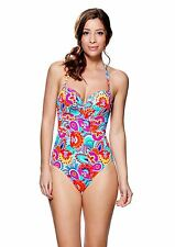 Lepel Swimwear Fiesta Swimsuit 47482 Red Print Multi
