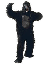Adult Gorilla Rubber Chest Ape Monkey Animal Mens Ladies Fancy Dress Costume