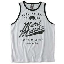Metal Mulisha T-Shirt / Top / Tank NECK TANK Weiß Motocross Enduro Cross MTB