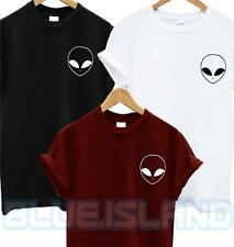 ALIEN POCKET LOGO T SHIRT UFO HIPSTER HATE LOVE SWAG BLOGGER TUMBLR FASHION NEW