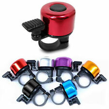 6 Colour One Touch Bicycle Bike Handlebar Safety Metal Bell Ping Ring
