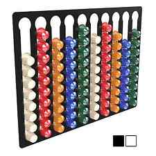10 Bay 100 Nespresso Capsule Coffee Pod Holder Stand Container Wall Display Rack