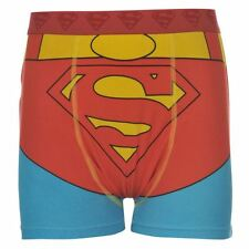 Superman Official DC Comics Kids Single Boxer Shorts 7-13 years Boxers Hero Boys