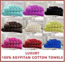 100% LUXURY EGYPTIAN COTTON SATIN STRIPE BATH SHEET BATH HAND FACE TOWEL TOWELS