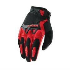 THOR Guanti Motocross SPECTRUM rosso Motocross Enduro Cross MTB Quad MX