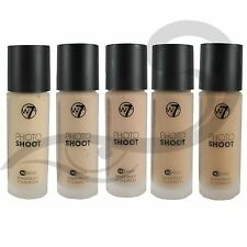 Foundation W7 Photoshoot 16 Hour Budge Proof - All Shades