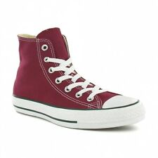 Converse M9613 Chuck Taylor All Star Unisex Hi-Top Shoes - Maroon Red
