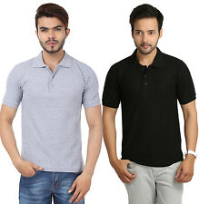 Stylish Combo Of 2 Polo Neck T-Shirt