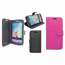 SAMSUNG GALAXY S6 EDGE PLUS WALLET BOOK FLIP CASE IN VARIOUS COLOURS