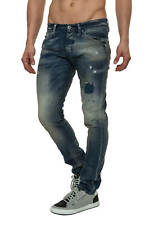 Jack & Jones Herren Skinny Jeans Jeanshose Hose Straight Fit Slim Fit Denim 50%