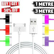1M 2M 3M Sync Charger USB Data Cable Lead For iPhone 4 4S iPad 3 2 iPod Touch