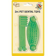 2 x Pet Dog Teeth Dental Cleaning Tooth Brush