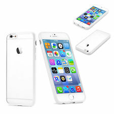 "Slim Fit Clear Back with TPU Bumper Rim Case Cover for Apple iPhone 6s 4.7"" 2015"