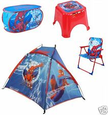 Spider-Man Folding Deck Chair / Laundry Toy Storage / Step Stool kids Beech Tent