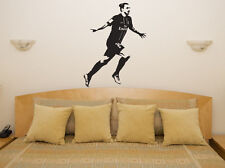 Zlatan Ibrahimovic Manchester Utd Football Player Decal Wall Art Sticker PSG Kit